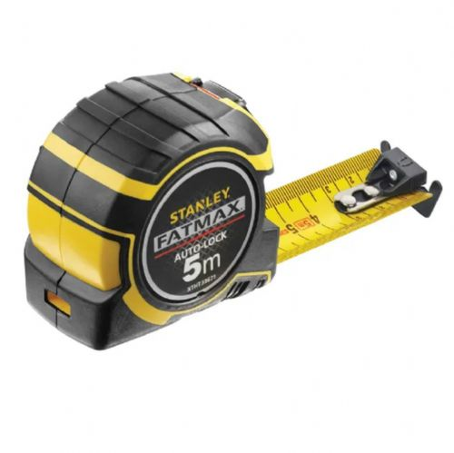 Stanley 033671 Fatmax Autolock Pocket Tape Measure Metric Only 5m (Width 32mm)